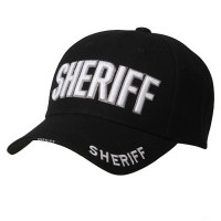 Embroidered Cap - Black Law , Order Cap
