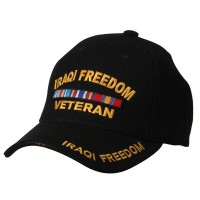 Embroidered Cap - Iraqi Freedom Military Cap