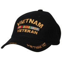 Embroidered Cap - Vietnam Vet Military Cap