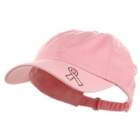 Embroidered Cap - Pink Ribbon Cap