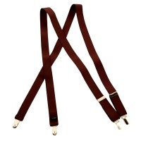 Belt , Buckle - Burgundy Dress Suspender