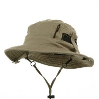 Outdoor - Khaki Canvas Fisherman Hat