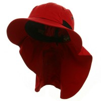 Outdoor - Red UV 45+Extreme Condition Flap Hats