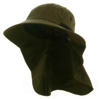 Outdoor - Olive UV 45+Extreme Condition Flap Hats