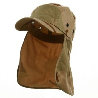 Flap Cap - New Desert Camouflaged Sun Cap
