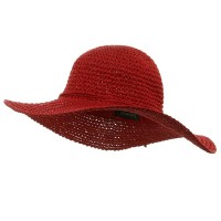 Dressy - Red Ladies H, Crocheted Hats