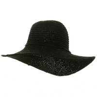 Dressy - Black Ladies H, Crocheted Hats