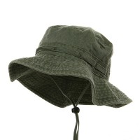 Outdoor - Olive Dyed Twill Washed Buckets