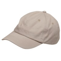 Ball Cap - Stone Youth Washed Chino Twill Cap