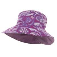Dressy - Ladies Floral Reversible Hat | Free Shipping | e4Hats.com