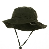 Outdoor - Olive Washed Hunting Hats