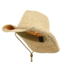 Western - Natural Ladies Toyo Cowboy Hat