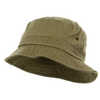 Bucket - Khaki Pigment Dyed Bucket Hats