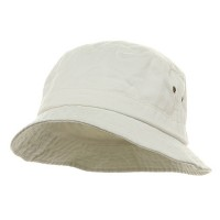 Bucket - White Pigment Dyed Bucket Hats