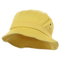 Bucket - Yellow Pigment Dyed Bucket Hats