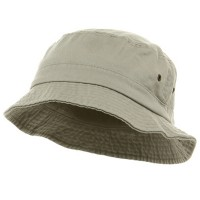 Bucket - Beige Pigment Dyed Bucket Hats