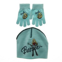 Beanie - Blue Barbie Beanies with Gloves