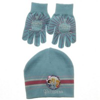 Beanie - Sky Disney Princess Knit Set
