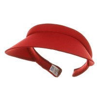 e4Hats.com: Nylon Small Clip Ons-Red