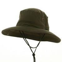 Outdoor - Olive Big Size Floatable Nylon Hat