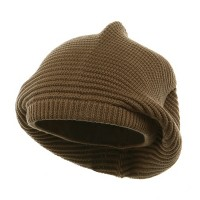 khaki Medium Crown New rasta Beanie Hat: Rasta Hat