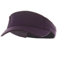 Visor - Purple Kids Deluxe Cotton Visor