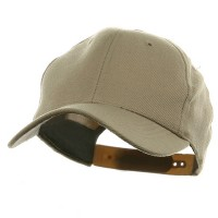 Ball Cap - Khaki Gold Crown Plastic Child Crown