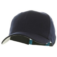 Ball Cap - Navy Gold Crown Plastic Child Crown