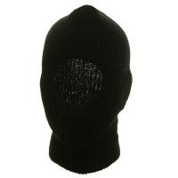 Face Mask - Black One Hole Face Mask