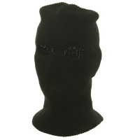 Face Mask - Black Tri Hole Ski Mask