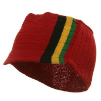 Beanie Visored - Red BYG Summer Military Beanie Visor