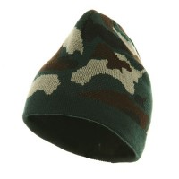 Beanie - uflage Design Acrylic Knit Beanie | Free Shipping | e4Hats.com