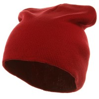 Beanie - Red Grey Striped Campus Jeep Cap