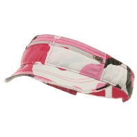 Visor - Enzyme Washed Cotton Visor | Free Shipping | e4Hats.com