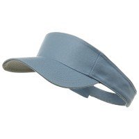 Visor - Light Blue Soft Lime Superior Sun Visor