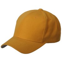 Ball Cap - Yellow 6 Panel Pro Style Brushed Cap