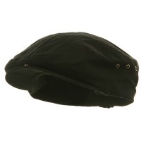 Ivy - Black Washed Canvas Ivy Cap