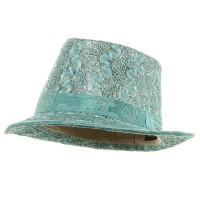 Fedora - Polyester Lurex Fedora Hat | Free Shipping | e4Hats.com