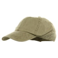 Ball Cap - Khaki Youth Pigment Dyed Washed Cap