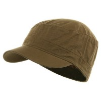 Cadet - Dark Khaki Pink Camo Cotton Army Cap