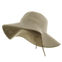 Dressy - Khaki Knitted ML Wide Brim Hat