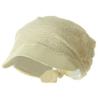 Outdoor - Natural Ladies Jacquard Mesh Hat