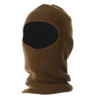 Face Mask - Copper Fleece Lined One Hole Face Mask