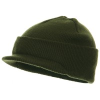 Beanie Visored - Youth Beanie Jeep Cap | Free Shipping | e4Hats.com