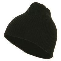 Beanie - Black G.I.Cuffless Watch Cap