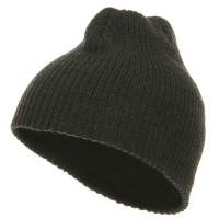 Beanie - Heather Charcoal G.I.Cuffless Watch Cap