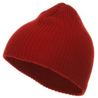 Beanie - Red G.I.Cuffless Watch Cap