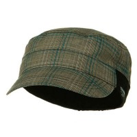 Cadet - Blue Fashion Plain Lining Cap
