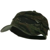 Ball Cap - Tiger Camo Washed Pocket Cap