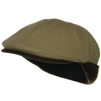 Ivy - Camel Coffee Knitted Flap Wool Ivy Cap